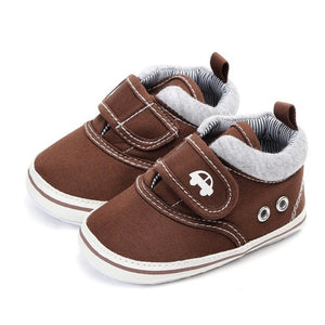 Autumn Hook Baby Boy Shoes Infant First Walkers Nonslip hard Sole Toddler Solid Baby Shoes Hot Sale for 0-18M