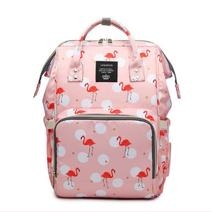 Baby Diaper Bag Unicorn Backpack Fashion Mummy Maternity Mother Brand Mom Backpack Nappy Changing Baby Bags for Mom