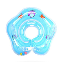 Baby Inflatable Swim Ring Newborns Bathing Circle Baby Neck Float Inflatable Wheels Pool Rafts Summer Toys Swimming Accessories