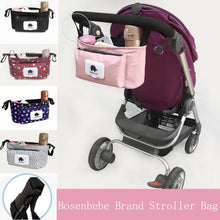 Baby Stroller Bag Organizer Mummy Diaper Bag Infant Toddler Travel Nappy Diaper bag  Multifunctional WaterProof Mummy Bag