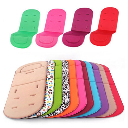 Baby Stroller Seat Cushion Kids Pushchair Car Cart High Chair Seat Trolley Soft Mattress Baby Stroller Cushion Pad Accessories - ShopeeShipee