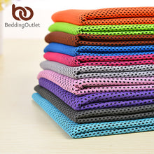 BeddingOutlet Cold Sports Towel Instant Cooling Ice Towel 1pc Travel Quick Dry Yoga Towel Portable Gym Running Towel 30x90cm