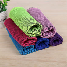 BeddingOutlet Cold Sports Towel Instant Cooling Ice Towel 1pc Travel Quick Dry Yoga Towel Portable Gym Running Towel 30x90cm - ShopeeShipee