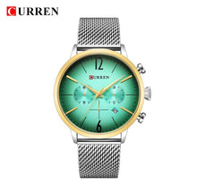 CURREN Luxury Brand Men Sport Watches Men's Digital Quartz Clock Stainless Steel Waterproof Wrist Watch relogio masculino 8313