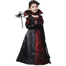 Children Girls Princess Vampire Cosplay Costumes for Kids Halloween Costume Long Dress Carnival Party - ShopeeShipee