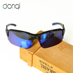 DONQL Sports Polarized Glasses for Fishing Sunglasses Men UV400 Driving Cycling Polarizing Lens Glasses Fishing Eyewear