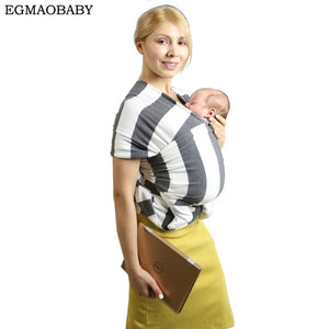 EGMAOBABY  Baby Carrier Sling For Newborns Soft Infant Wrap Breathable Wrap Hipseat Breastfeed Birth Comfortable Nursing Cover