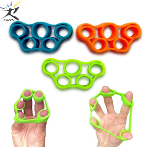 Finger Resistance Bands Training Stretch Bands Exercise Elastic Rubber Bands for Fitness Equipment Pull Ring Hand Expander Grip - ShopeeShipee