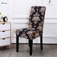 Floral Printing Elastic Chair Cover Home Decor Dining Chair Cover Spandex Decoration covering Office Banquet chair Covers