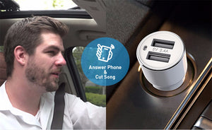 Bluetooth FM Transmitter & Car Charger