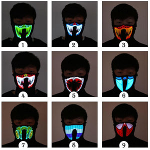 GLOW FLOW - LED MASKS - ShopeeShipee