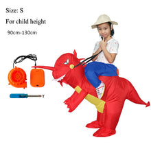 Holiday Carnival Costume Women Dinosaur Cowboy Inflatable Costumes Funny Party Dress Animal Cosply Halloween Costume for Kids - ShopeeShipee