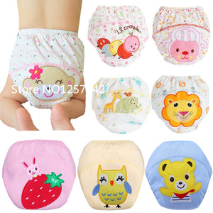 Hotsale Baby Training Pants  Washable Baby Cloth Diaper Cover Waterproof  Baby Diapers Reusable Cloth Nappy Pocket Underwear