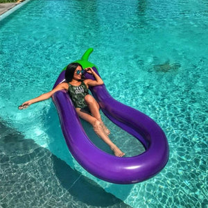Inflatable Pool Floats Raft Swimming Ring Water Floating Toys (Eggplant)  Water Fun Pool Toy Kids Swimming Ring - ShopeeShipee
