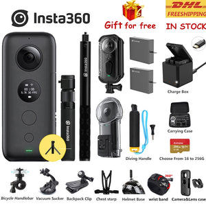 Insta360 One X Sport Action Camera 5.7K Video 18MP Insta 360 ONE X Selfie Stick Bullet Time Venture Case - ShopeeShipee