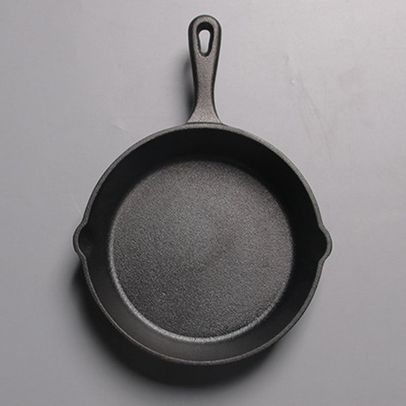 LBER Not Sticky Frying Pan Cast Iron Pan Stone Layer Frying Pot Saucepan Cooker Egg Pancake Pot Use Gas And Induction Cookware