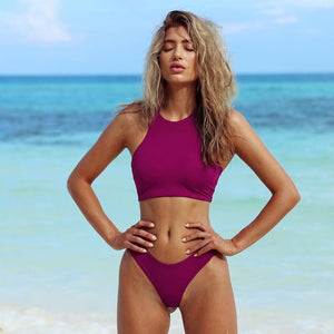 LI-FI Sexy Bikinis Women Swimwear Bikini Set Summer Vacation Beachwear Swimsuit Instgram Hot Bikini Bathing Suit Maillot De Bain