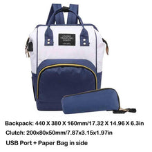 Large Capacity Mummy Maternity Diaper Bag Nursing Travel Backpack Designer Stroller Baby Bag Baby Care Nappy Backpack Handbags