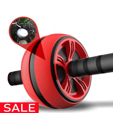 Large Silent TPR Abdominal Wheel Roller Trainer Fitness Equipment