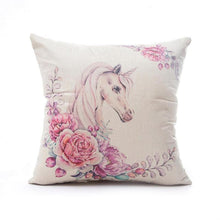 Leeiu 45*45cm Pillow Case Baby Shower DIY Unicorn Party Decoration Wedding Birthday Decor Party Supplies