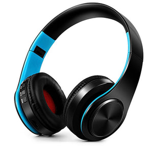 NDJU Wireless Headphones Bluetooth Headset Bluetooth Earphone Foldable Adjustable Handsfree Headset with MIC for mobile phone