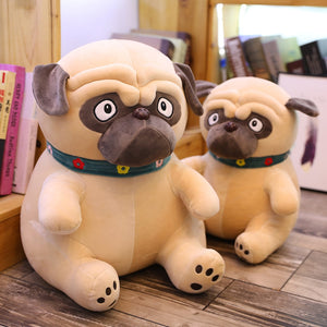 New 1pcs 25cm Plush lovely toy stuffed animal doll Simulation cute dog puppy shar-pei Dog kawaii Christmas birthday gift