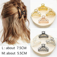New Fashion Women Hair Claws Hair Crab Clamp Hairgrip Plastic Hair Clip Claw Hairdressing Tool Hair Accessories for Women party