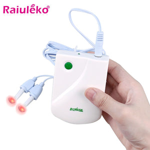 Nose Care Device Proxy BioNase Nose Care Therapy Machine Nose Rhinitis Sinusitis Cure Hay Fever Low Frequency Laser