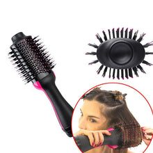 One Step Hair Dryer and Volumizer, ManKami Salon NEW Air Paddle Styling Brush Negative Ion Generator Hair Straightener Curler