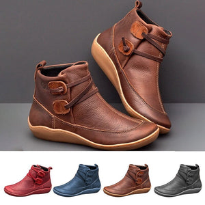 Boots Ankle Boots Roman Pointed Casual Booties Spring Autumn Boots