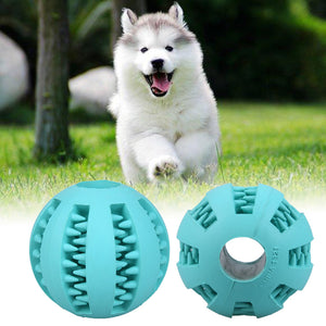 Pet Dog Chew Ball Funny Pet Puppy Dogs Cat Chew Toy Rubber Balls Pet Toys Ball Tooth Cleaning Balls Dog Toys Drop shipping