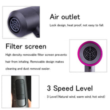 Professional Hair Dryers 1100W Hot Cold Air Blower Low Noise Quick Portable Hair Blow Drier Styling Tools Styler