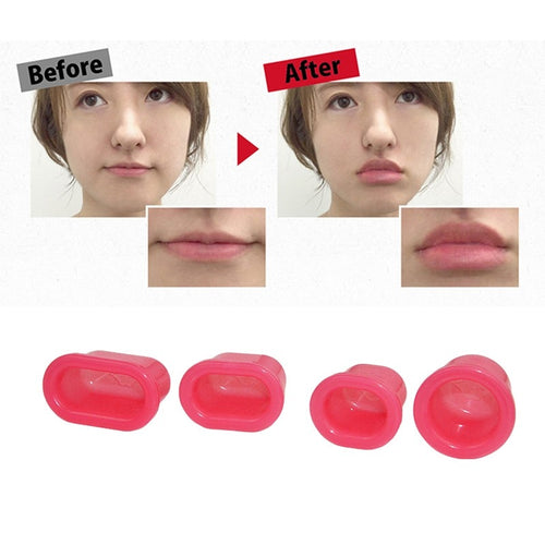 Professional Silicone Sexy fuller lips plumper Pink Lips Suction Enhancer Device Round Increase lips Women Fahion Beauty Tools - ShopeeShipee