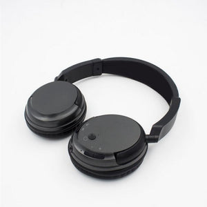 Professional Wireless Headset For TV PC Computer MP3 TV Over-Ear Headset Support FM Function With USB Transmitter