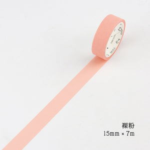 DIY Cute Kawaii Solid Color Washi Tape Lovely Adhesive Tape For Home Decoration Scrapbooking Student 3011