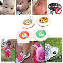 Random Color Mosquito Repellent Bracelets Buttons Mini Lightweight Cute Shape Driving Mosquito Baby Children Sleeping