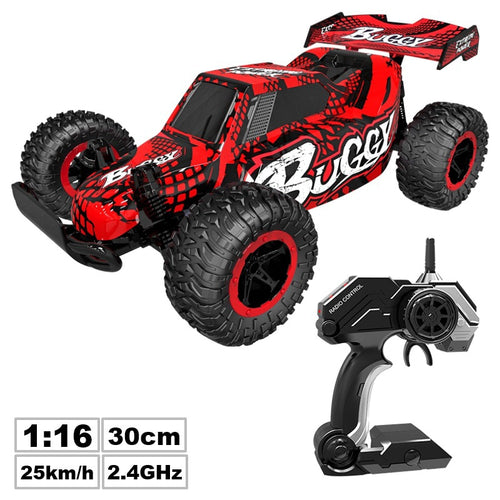 Rc car 1:16 off-road climbing car radio rc car 25km / h upgraded version of two people do not interfere with rc car toy 2020 toy - ShopeeShipee