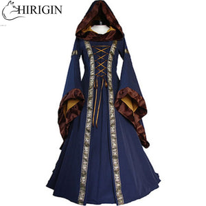 Renaissance Women Costume Medieval Maiden Fancy Cosplay Over Dress halloween costumes for women Victorian Dress Costume - ShopeeShipee