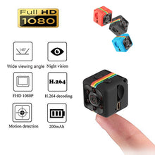 SQ11 Mini Camera 1080P Sport DV Mini Infrared Night Vision Monitor Concealed small Camera DV Video Recorder Support TF Card