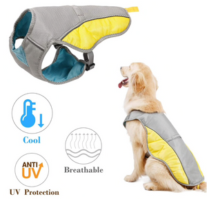 Summer cooling vest for dogs - ShopeeShipee