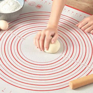 Silicone Baking Mats Sheet Pizza Dough Non-Stick Maker Holder Pastry Kitchen Gadgets Cooking Tools Utensils Bakeware Accessories