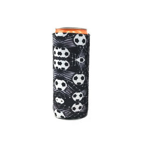 Slim  Can Cooler, Cooler Bags ,   Tall Stubby Holder Foldable Stubby Holders Beer Cooler Bags Fits 12oz Slim Energy Drink & Beer