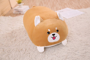 Soft Animal Cartoon Pillow Cushion Cute Fat Dog Cat Totoro Penguin Pig Plush Toy Stuffed Lovely kids Birthday Gift - ShopeeShipee