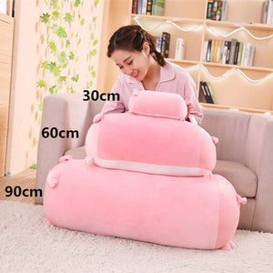 Soft Animal Cartoon Pillow Cushion Cute Fat Dog Cat Totoro Penguin Pig Plush Toy Stuffed Lovely kids Birthday Gift