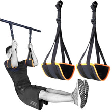 Sport Adjustable Ab Straps for Pull Up Bar Hanging Abdominal Slings Heavy Duty Strap and Neoprene Padded Home Gym Core Workouts