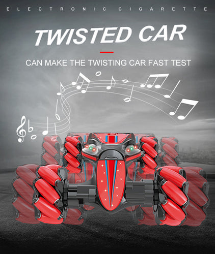 Stunt Gesture Remote Control twisted 4WD High Speed RC Car 2.4GHz Radio Control Twist-Desert Stunt Cars Off Road Racing CAR - ShopeeShipee