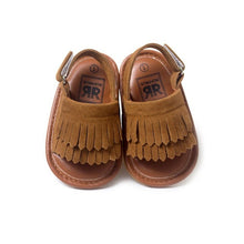 Summer Baby First Walkers Soft Bottom Fringe Candy Color Shoes Girls Baby Toddler Slippers Boys Prewalkers QF