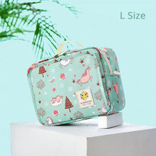 Sunveno New Original Waterproof Diaper Bag Fashion Hangbag Reusable Mummy Wet Bag for Baby Care Maternity Nappy Bag Stuff
