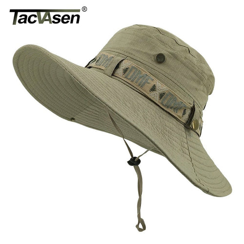 TACVASEN Army Men Tactical Sniper Hats Sun Boonie Hat Summer Sun Protection Cap Men's Military Fish Hunt Hats Caps TD-YWYG-001 - ShopeeShipee