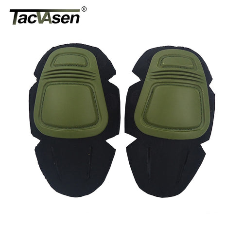 TACVASEN Tactical Uniform T-shirts Pants Knee Pads Elbow Pads Durable Military Army Airsoft Combat Paintball Pads Accessories - ShopeeShipee